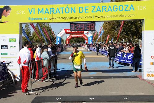 6. Meta VI Maraton Zgz