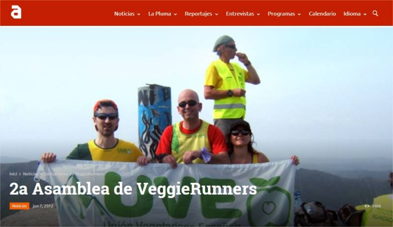 2a Asamblea de VeggieRunners TVAnimalista.com