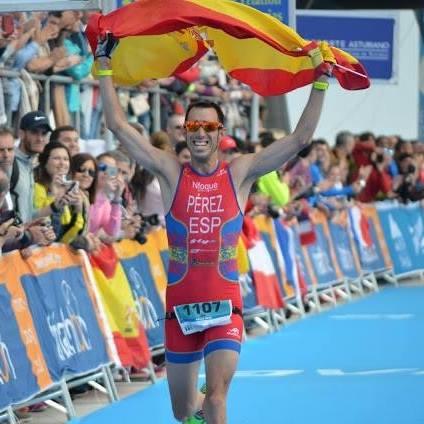 Borja Pérez Vegan runner